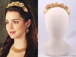 reign tv show hair beads 123 best reign headbands crowns images on pinterest reign