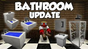 bathroom mod 1 7 10 1 7 2 1 6 4 minecraft minecraft games