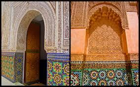 Morocco Design Battle Of The Koran Schools In Marrakech Morocco