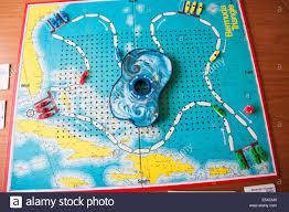 Bermuda Triangle Map Bermuda Triangle Board Game Stock Photo Royalty Free Image