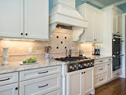 Painted Kitchen Backsplash Ideas by Granite Countertop Green Kitchen Cupboard Paint Backsplash Tile