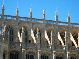flying buttress perpendicular gothic architecture sunlit flying buttresses on st