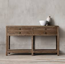 Sofa Table With Drawers Console Tables Rh