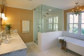 Bathrooms With Wainscoting Wainscoting Half Wall Half Wall Wainscoting Houzz Wainscoting