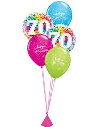 birthday balloon bouquet 70th birthday balloon bouquet party fever