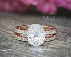 oval engagement rings gold oval engagement ring etsy