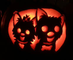 halloween costumes for yorkies dogs yorkie pumpkin carved by one of our designers how cute trick