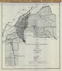 Map Of Boise Idaho Map Of The Fort Hall Indian Reservation In Idaho