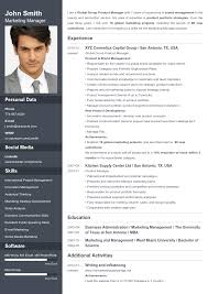 Picture Resume Template Resume Builder Online Your Resume Ready In 5 Minutes