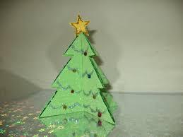 glitter paper tree allfreechristmascrafts