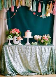 Bridal Shower Dessert Table Plan A Picture Perfect Bridal Shower Huffpost