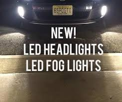 led headlight fog cree led bulb with ballast 9000 total lumens