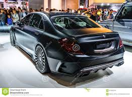 mansory cars 2015 frankfurt sept 2015 mansory black edition mercedes s class am