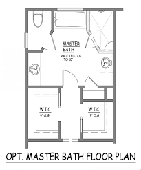 I Like This Master Bath Layout No Wasted Space Very Efficient - Master bathroom design plans