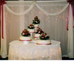 Simple Wedding Cake Table Decorations Diy your wedding cake tips