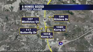 Ct Dss Map 5 Homes And 25 Cars Seized After Murphy Village Indictment Youtube