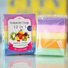 Sabun Thailand fruitamin soap sabun buah sabun pelangi thailand 10 in 1