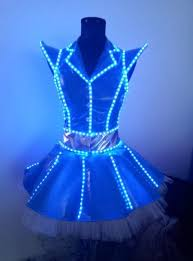 Light Halloween Costumes 25 Led Costume Ideas Futuristic Costume El