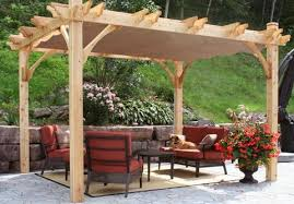 outdoor living today 12 x 16 breeze pergola with retractable