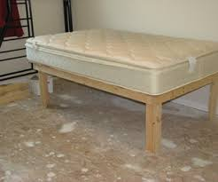 Raised Platform Bed Frame Cheap Easy Low Waste Platform Bed Plans Bed Plans Platform