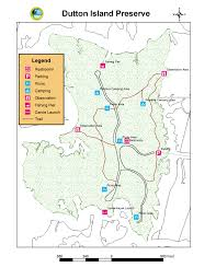 Florida Trail Map by Dutton Island Preserve Timucuan Parks Foundation