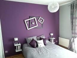 chambre gris chambre gris et violet couleur chambre adulte en gris design violet