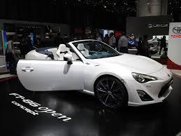 2013 geneva motor show 2014 toyota ft 86 open concept european