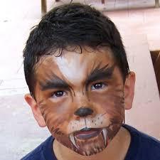 werewolf makeup tutorial male werewolf face paint with beard face painting
