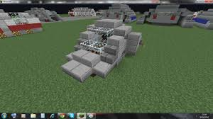 minecraft car star trek hover car zeppelin mod compatible minecraft project
