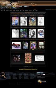 Art Portfolio Design Fine Art Websites Infinitee Web Design