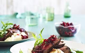 chevreuil cuisine chevreuil grillé salade de betteraves cuisine et recettes