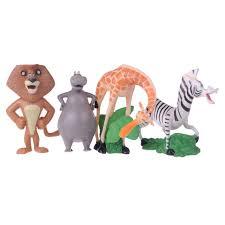 madagascar 4 ornament set gloria the hippo alex