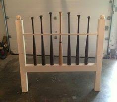 Baseball Bed Frame Baseball Bat Bed White Bed