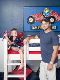 Little Boys Bedroom Sets Little Boy U0027s Bedroom Red Blue And Action Packed Hgtv
