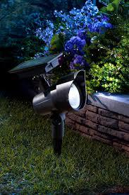 solar landscape spotlights spotlight black p189526 with on off
