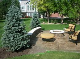 landscaping around spruce trees landscaping ideas for under
