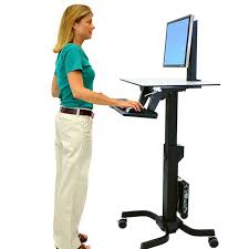 Cubicle Standing Desk Standing Desks And Adjustable Stand Up Desks Ergotron
