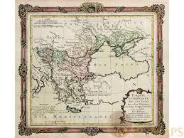 Ottoman Europe by Turque Europeenne Ottoman Empire Map Desnos 1766