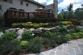 decorative and structural rock retaining wall design rock wall