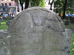 memento calvaria boston burial grounds and puritan death