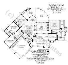 house plans open floor nantahala cottage gable house plan house plans by garrell