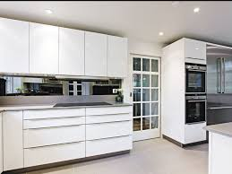 Clean Cabinet Doors Coffee Table Kitchen Cabinets High Gloss White Modern