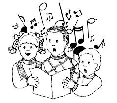 serenade clipart church singer pencil and in color serenade