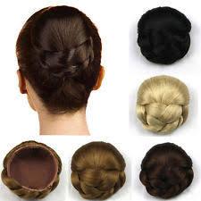 hair bun clip bun clip in hair extensions ebay