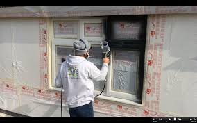 can you paint upvc windows painting pvc windows grey