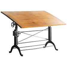Wooden Drafting Tables by Antique Cast Iron Drafting Table By The Frederick Post Company At