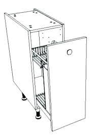 meuble cuisine 40 cm largeur meuble bas cuisine largeur 35 cm free caisson de cuisine bas cb