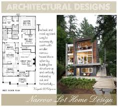 luxury home plans for narrow lots affordable house plans for narrow lots