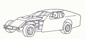 modified race car coloring pages open wheel modified 2 dream