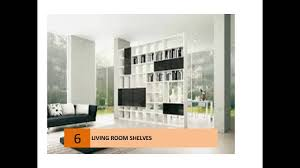 living room storage bookcases u0026 shelving units youtube
